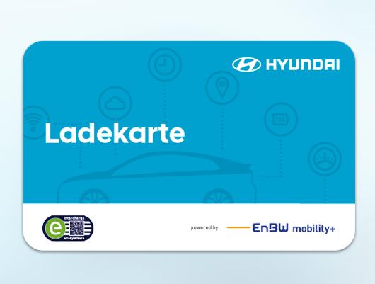 Logo der Ladekarte von Hyundai