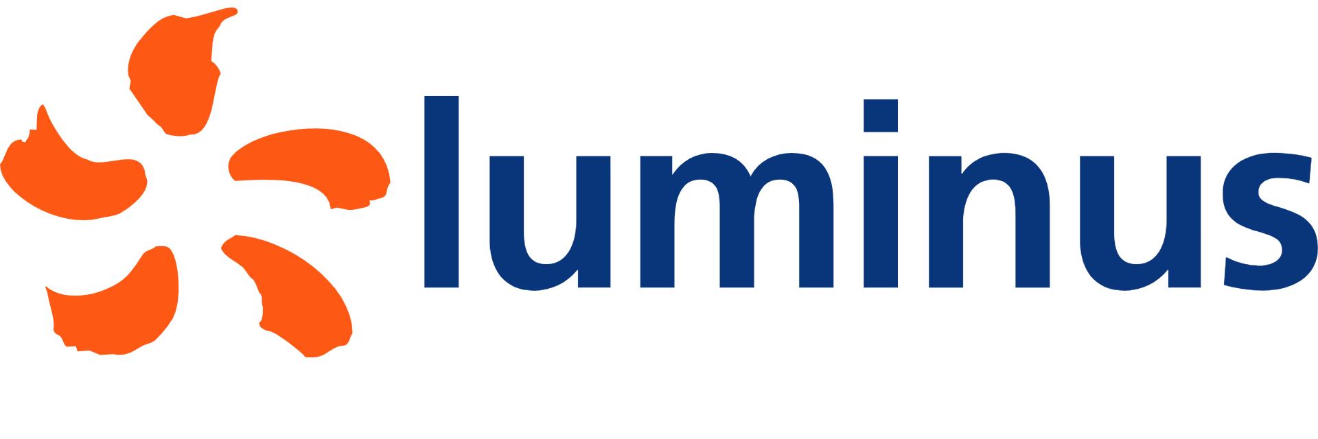 Logo der Ladekarte von Luminus