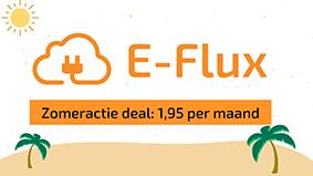 Logo der Ladekarte von E-Flux