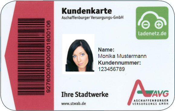 Logo der Ladekarte von AVG Ladekarte
