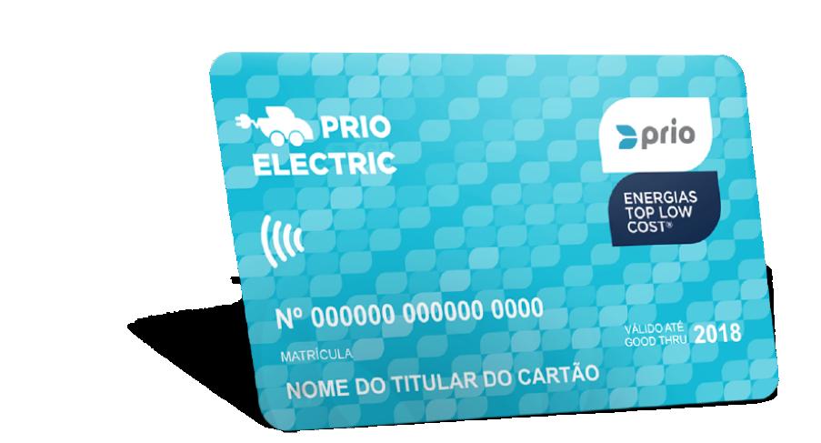 Logo der Ladekarte von Prio Electric
