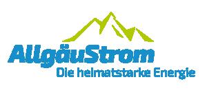 Logo der Ladekarte von AllgäuStrom Mobil