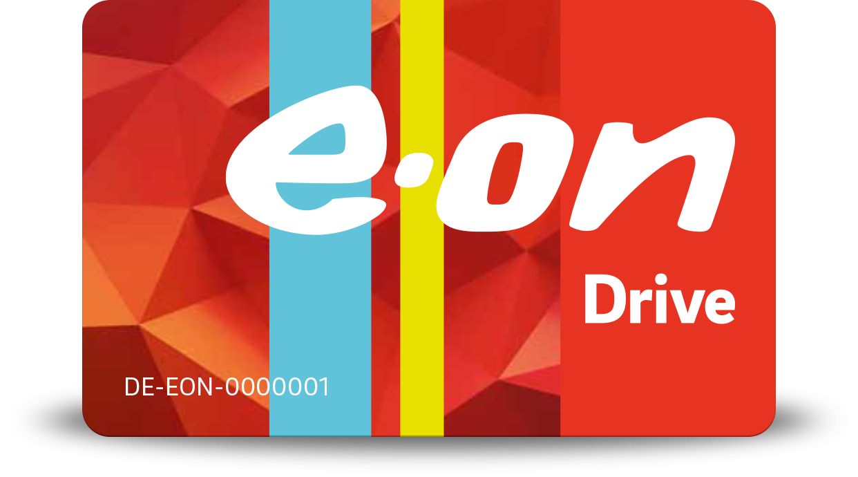 Logo der Ladekarte von Eon Drive Sweden