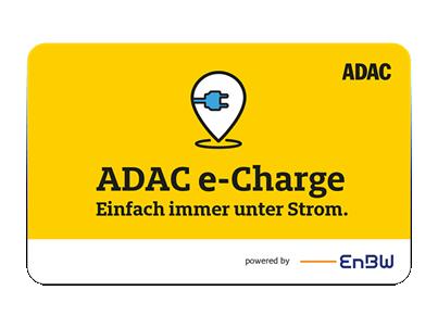 Logo der Ladekarte von ADAC e-Charge