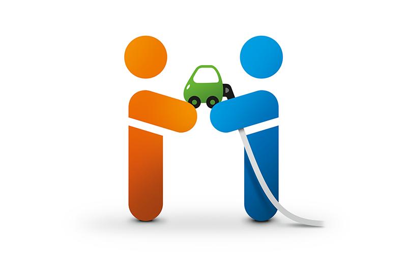 Logo der Ladekarte von Eins E-Mobil