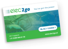 Logo der Ladekarte von Elec2go