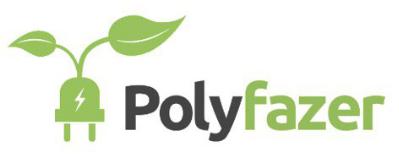 Logo der Ladekarte von Polyfazer
