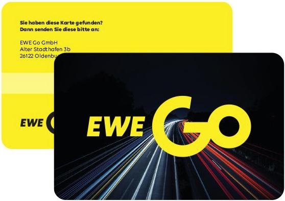 Logo der Ladekarte von EWE-Go Mobility Card
