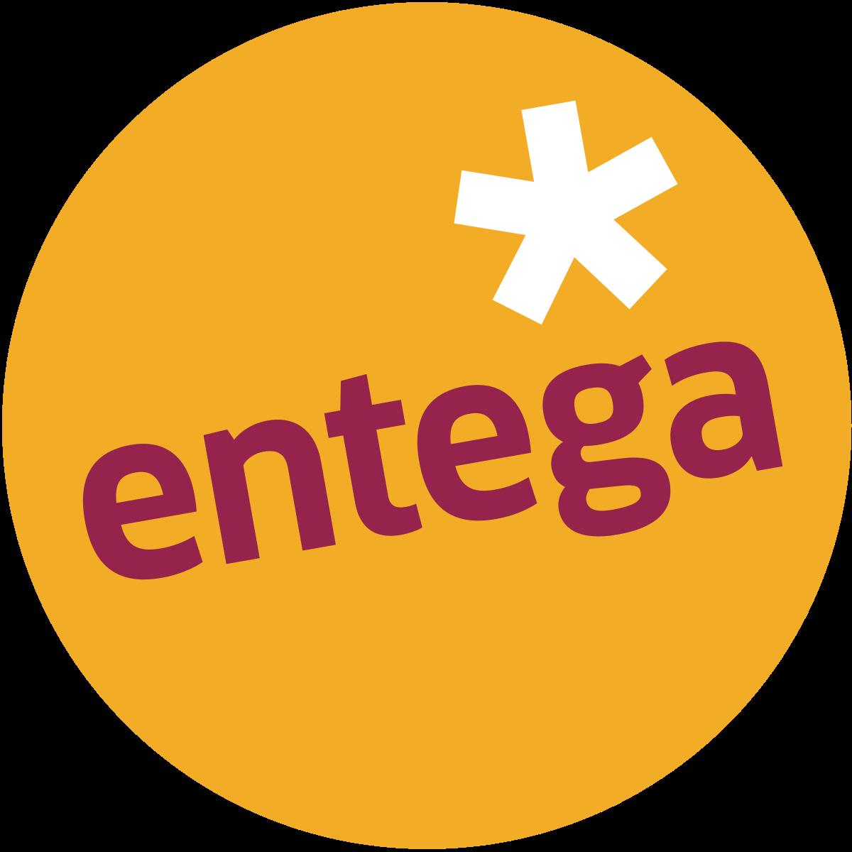 Logo der Ladekarte von Entega
