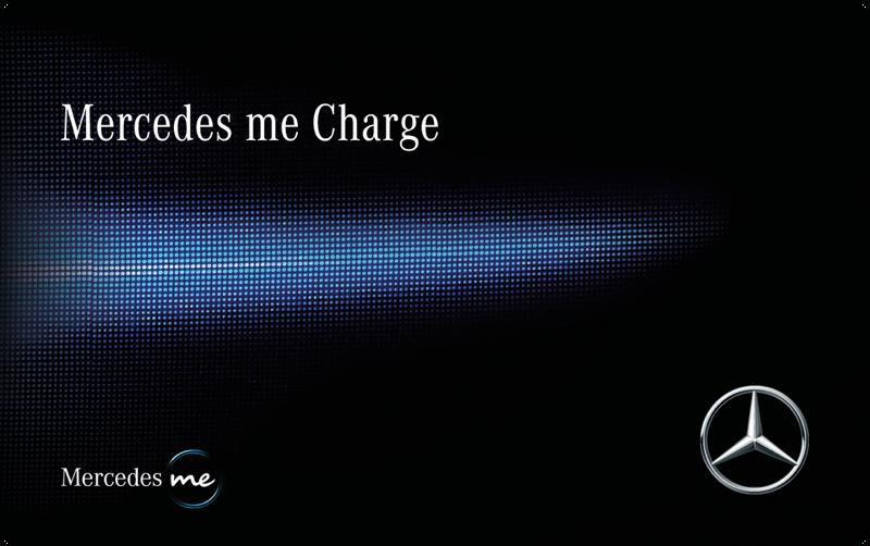 Logo der Ladekarte von Mercedes Me Charge
