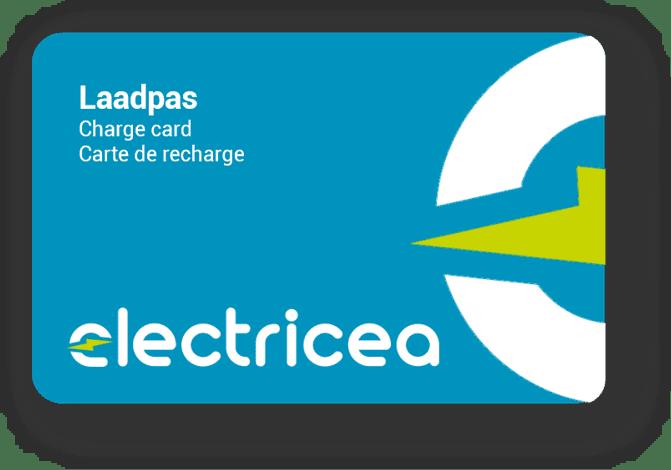 Logo der Ladekarte von Electricea