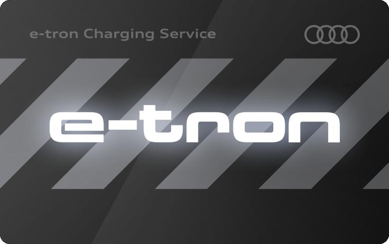 Logo der Ladekarte von Audi Charging Service
