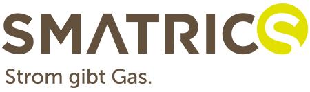 Logo der Ladekarte von Smatrics Single