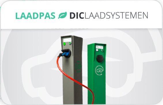 Logo der Ladekarte von DIC Laadsystemen