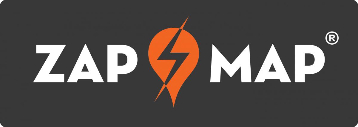 Logo der Ladekarte von Zap-Map