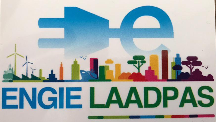 Logo der Ladekarte von Engie Zuid-Holland