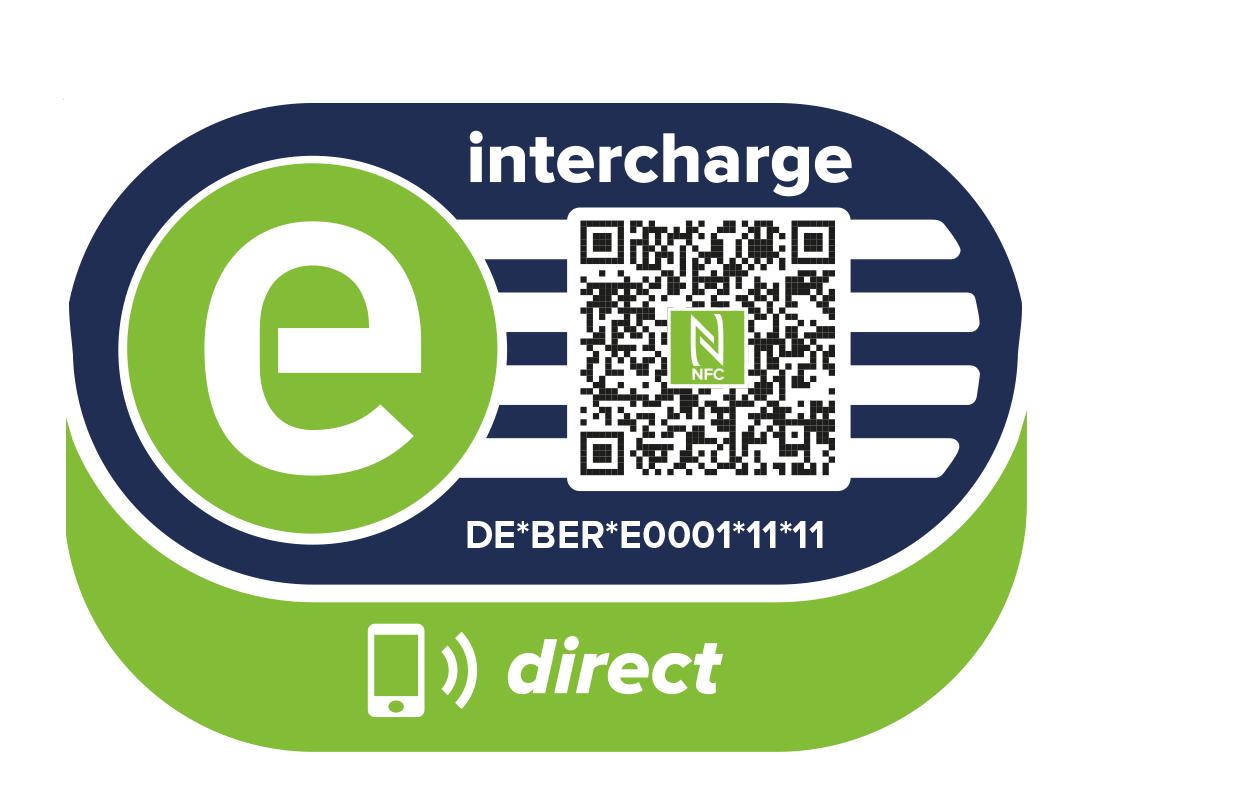 Logo der Ladekarte von Intercharge Direct (Hubject)