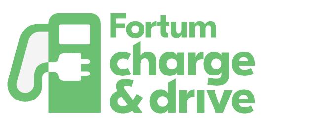 Logo der Ladekarte von Fortum Charge & Drive