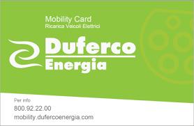 Logo der Ladekarte von Duferco Energia (DUE)