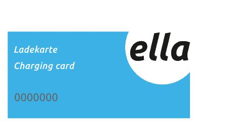 Logo der Ladekarte von Ella